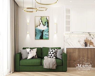 Дизайн интерьера двухкомнатной квартиры ЖК Лучи в Москве img720754178