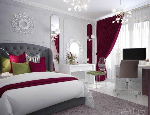Дизайн интерьера четырехкомнатной квартиры по ул. Блюхера 41