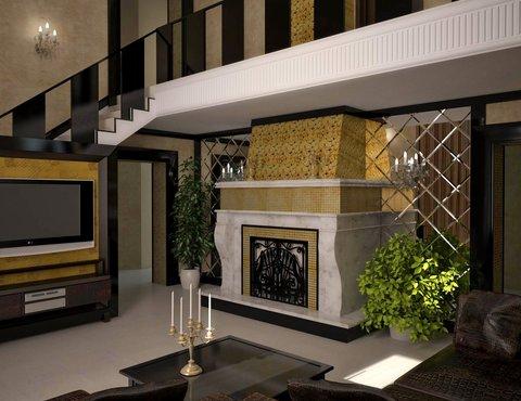нтерьр бильярдной комнаты, дизайн-проект коттеджа, бильярд, классика, интерьер коттеджа