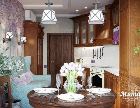 Дизайн интерьера кухни в коттедже п. Верхнее Дуброво